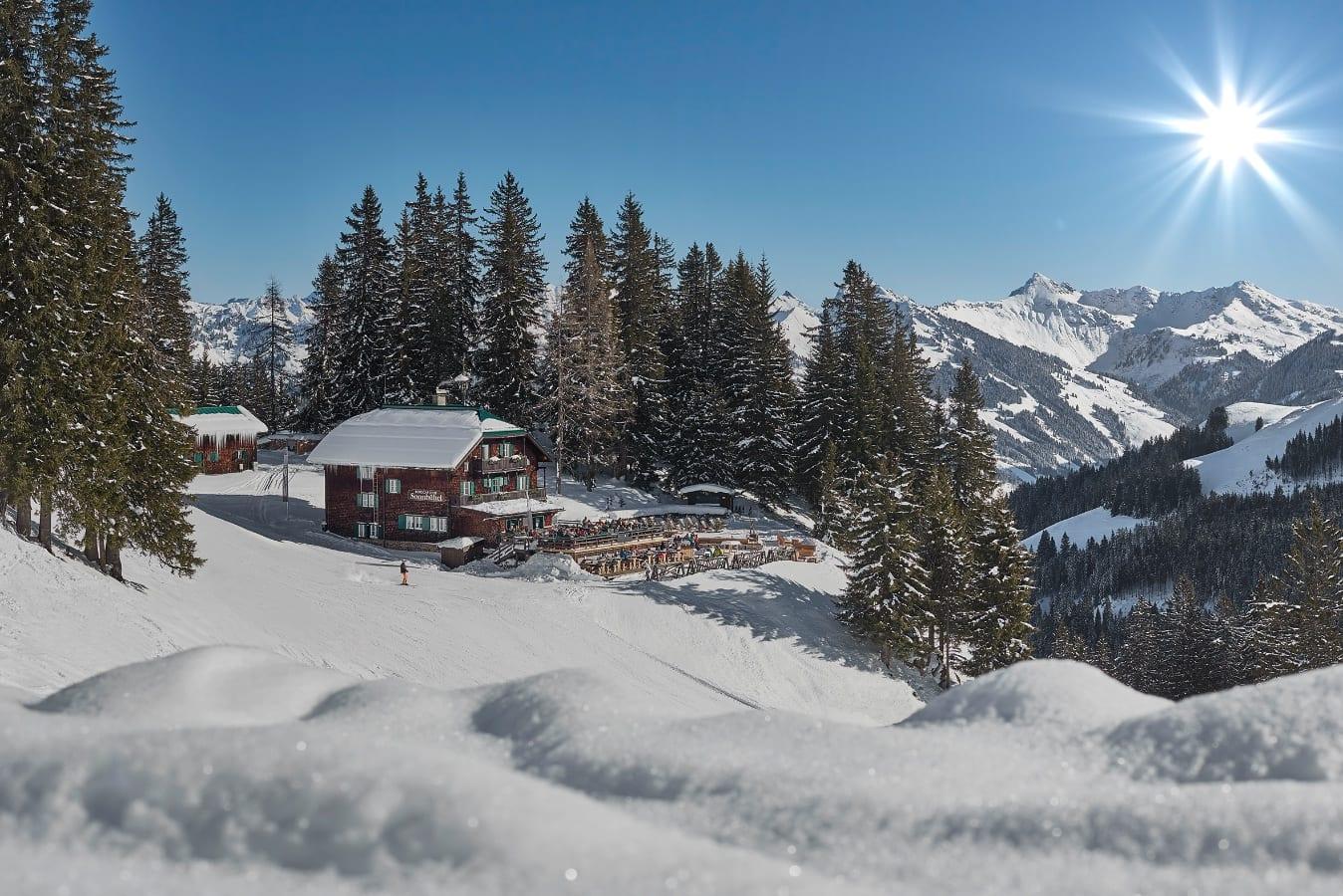 Sonnbühel Winterlandschaft