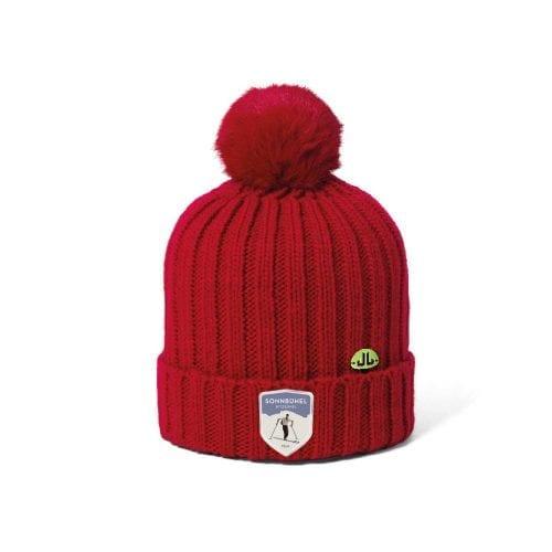 Sonnbühel Mütze Rot Wolle